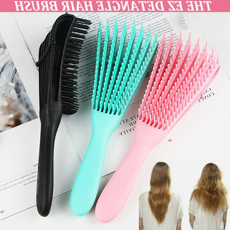 Detangling Hair Brush Dry Curly Hot