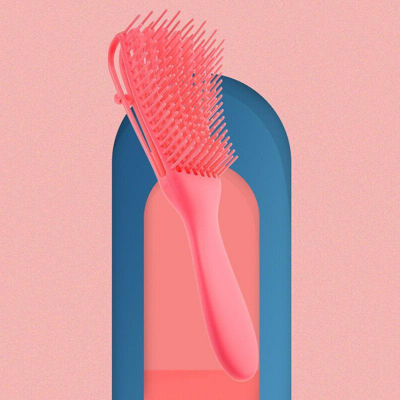 Detangling Brush Brush Detangle Dry Curly Hot