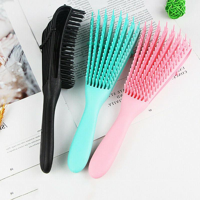 The EZ Detangler Hair Brush Scalp Comb Salon Hair Styling US