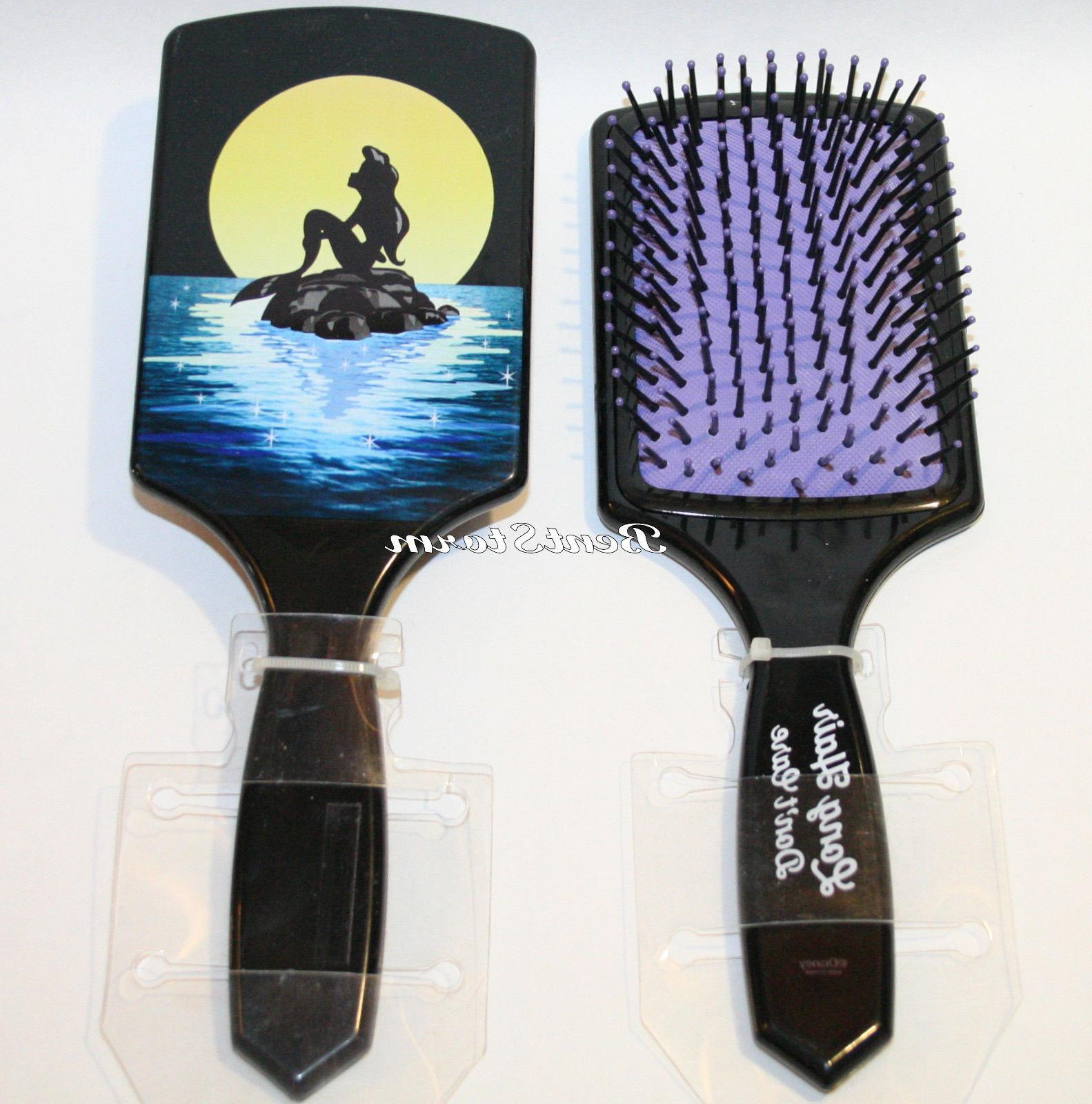 the little mermaid ariel large paddle hair