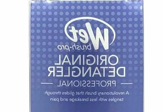 The Wet Pro Select Hair Detangling Shower Brush Choose Color