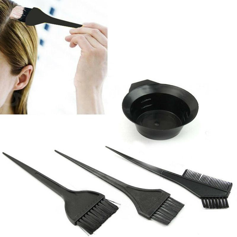 Tint Cover Brush Comb Hairdressing Styling Tool