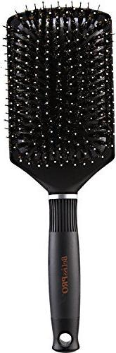 BeLissPRO Titanium Ceramic Boar/Nylon Cushion Paddle Brush b