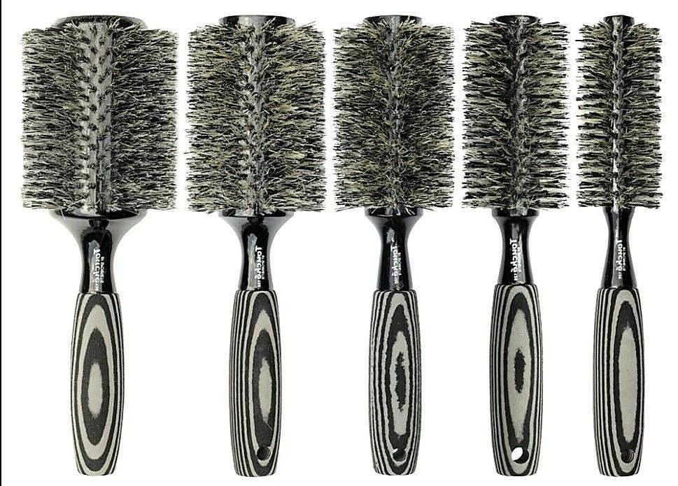 touche boar reinforced bristle rounder hair brush