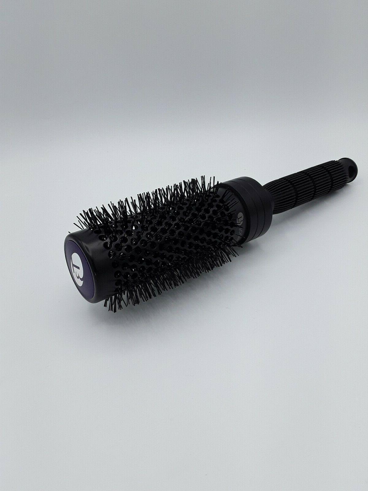 tourmaline ionic bristling hair brush 2 black