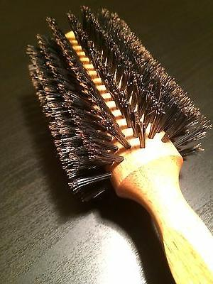 True Boar Bristle Brush Round Brush 2.44