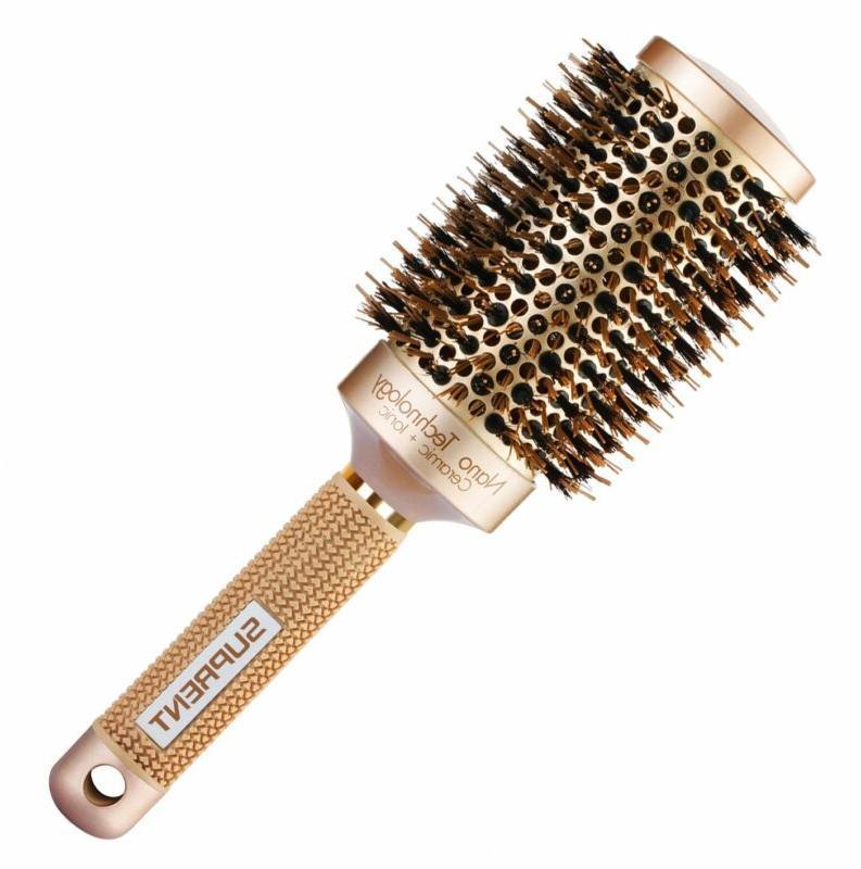 Suprent Ceramic Ionic Barrel Hair Brush
