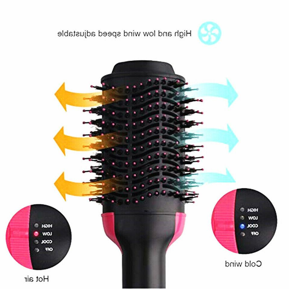 4 In One Step Hair Dryer Volumizer Iron Comb