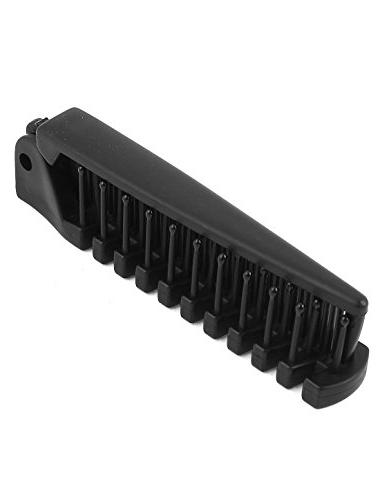uxcell Plastic Toothed Women DIY Hairdressing Comb Brush