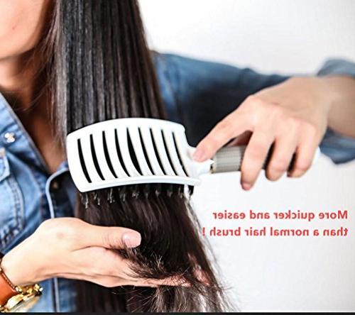 Vent Brush,Flex Styling Hair Long Massage Brush for