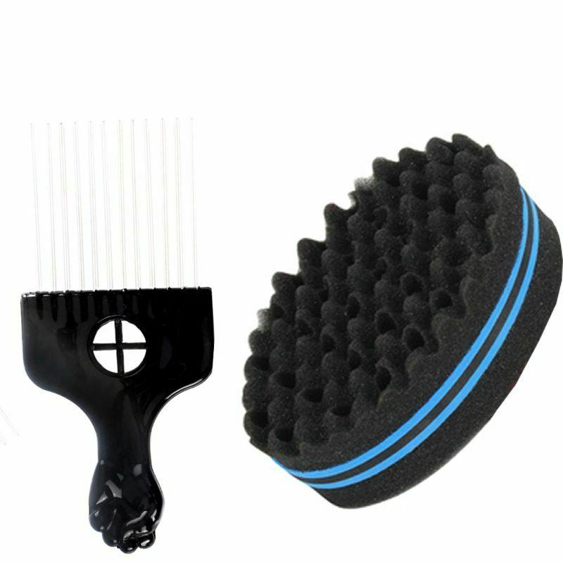 Wave & Twist Hair Foam Sponge for Locs Curls Small