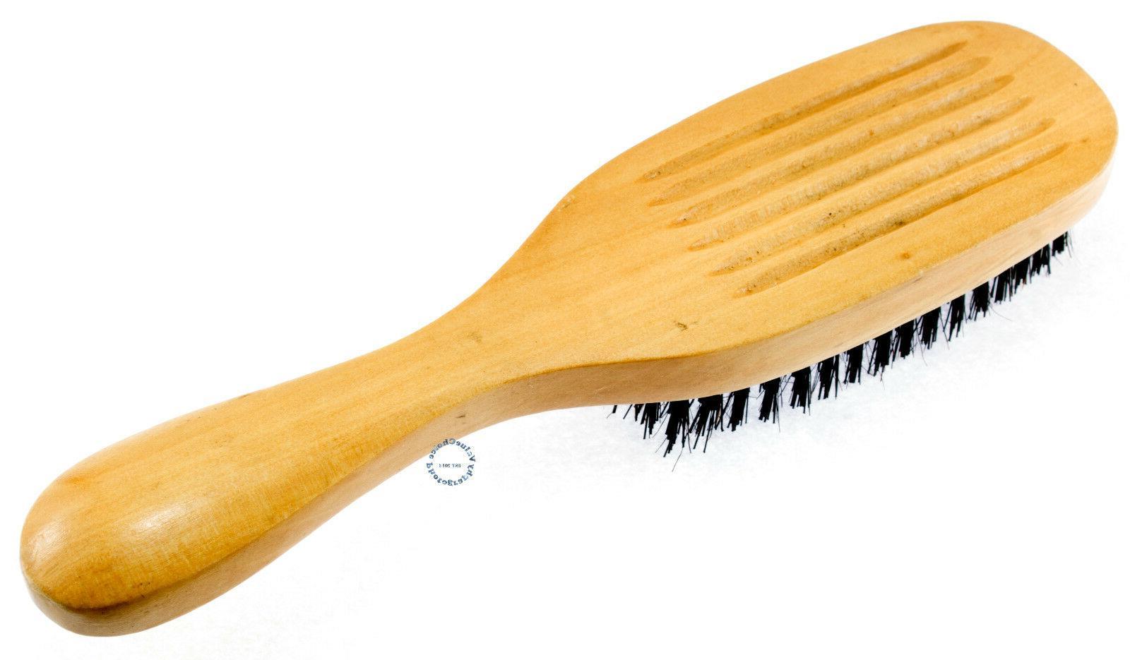 WAVE HAIR WOOD HANDLE MEN NEW