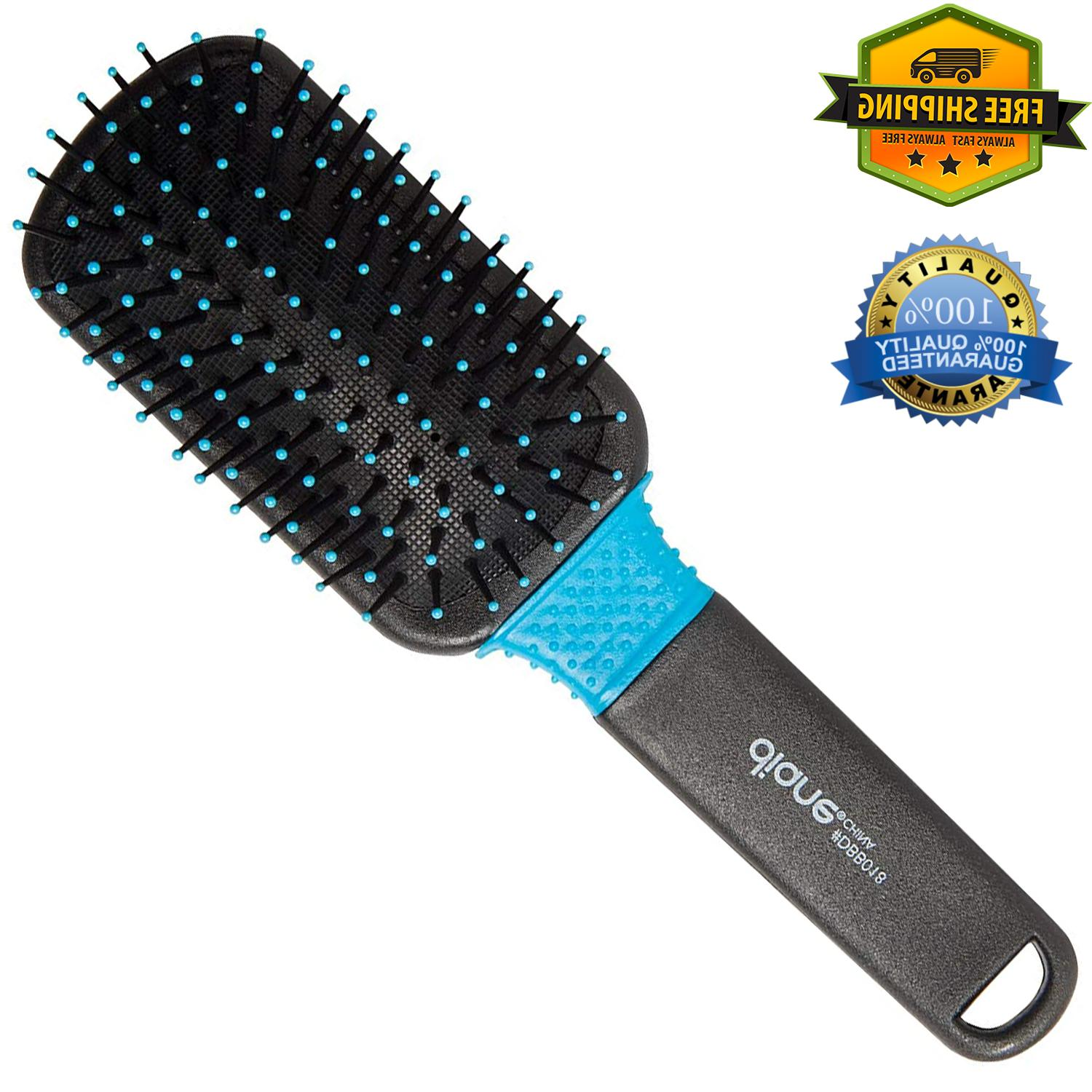 wet and dry paddle shower hair brush