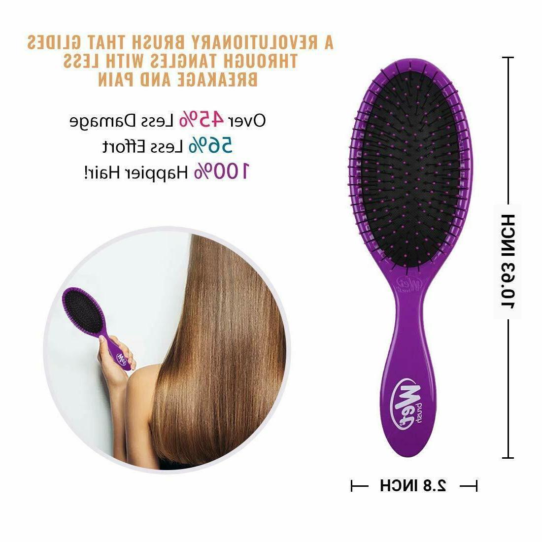 Hair Brush - Pink And Purple