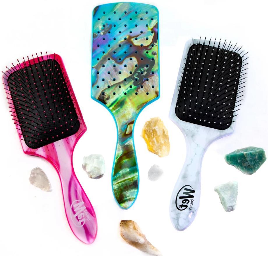 wet brush professional paddle detangler hair brush
