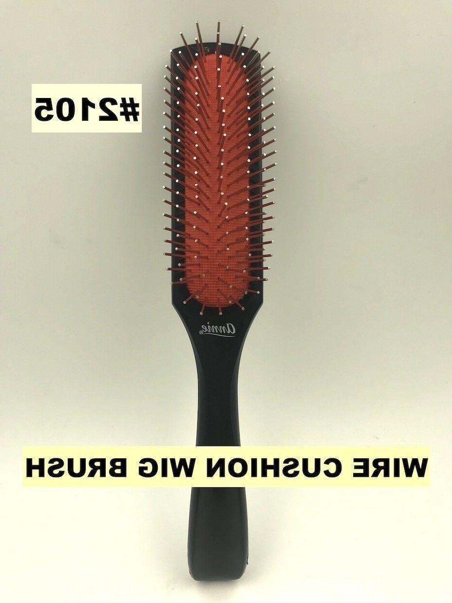 ANNIE WIRE CUSHION WIG BRUSH #2105 WIG WEAVING BRUSH SHORT L