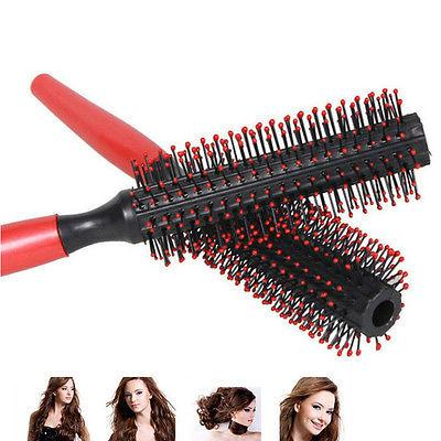 Women Round Hair Care Brush Hairbrush Salon Styling Dressing