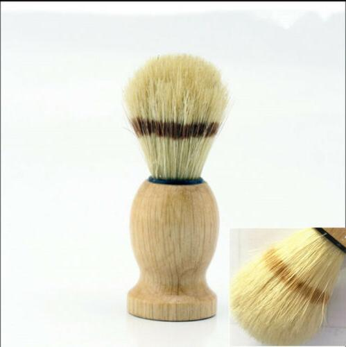 Generic Wood Handle Barber Shaving Brush Tools imitate Badge