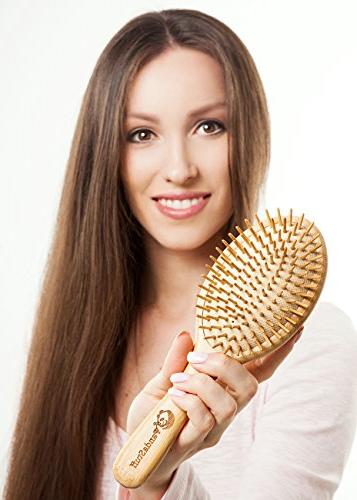 Organic Bamboo Hair And Women And For All Hair Types - Scalp For Healthy Hair - Free Stuff