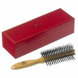 Kent LHS7 A handmade half radial, satin wood bristle hair br