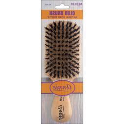 Annie Medium Wave Club Brush Light Brown 50% Nylon and 50% B