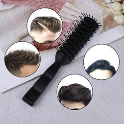 Men Plastic Vent Hair Brush Comb Anti-Static, Massage Hair C