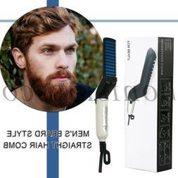 Men's Hair Straightener Multifunctional Electric Brush Beard