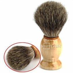 Men's Wood Handle Shaving Brush Badger Hair For Men Father G