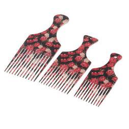 men women oily hair pick comb hairdressing
