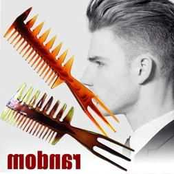 Mens 3 Way Large Tooth Detangle Comb Wide Teeth Pick Hair St
