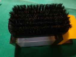 Swissco Military Style 100% Natural  Black Boar Bristle Hair