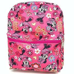 """Disney Minnie Mouse 12"""" Allover Small Backpack-15286"""