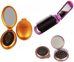 Vega Mirror Hair Brush Choose from 3 Variants Hair Care