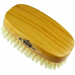 Kent MG2 Oval 100% Natural Beechwood Military Hair Brush wit