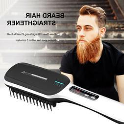 Multifunctional Hair Straightener Men Electric Heated Painle