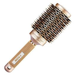 I-VOM Nano Thermal Ceramic & Ionic Round Barrel Hair Brush w