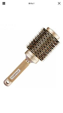 nano thermal ceramic ionic round barrel hair