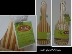Cala Natural Bamboo Hair Brush NWT Eco Friendly Free Shippin