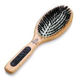 Natural Shine Large Porcupine + Bristle Hairbrush - PF01 by