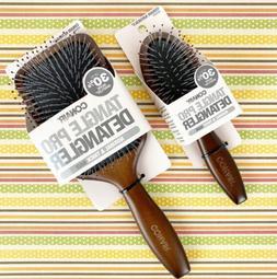 Conair Naturals 2-PK Tangle Pro Detangler Hair Brushes Paddl