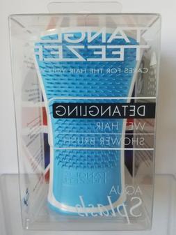 New Blue Tangle Teezer Aqua Splash Detangling Wet Hair Showe
