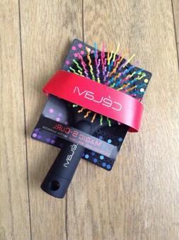 New CÉLAVI Baby DeTangle Rainbow Magic  Hair brush With Mir