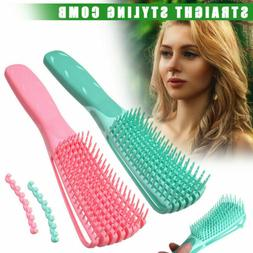 New Detangling Brush Hair Combing Brush Detangle With Wet/Dr