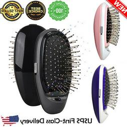 NEW Electric Hairbrush Takeout Combs Anti-frizz Hair Brush M