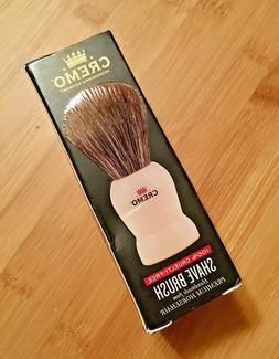 NEW NOS NIB cruelty free horse hair shaving brush CREMO Chin