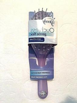 NEW Goody Ouchless Gentle Hair Brush Comfort Flex Purple 200