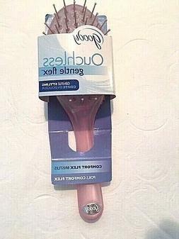 NEW Goody Ouchless Gentle Hair Brush Comfort Flex Pink 2009