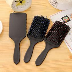 New Professional Healthy Paddle Cushion Hair Massage Brush H