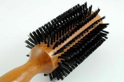 NEW SALON PRO HAIR STYLING ROUND BRUSH WOOD HANDLE HAIRDRESS