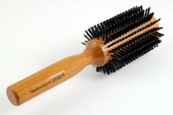 NEW SALON PRO HAIR STYLING ROUND BRUSH WOOD HANDLE HAIRDRESS